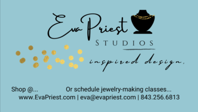 Eva Priest Studios Launch! Inspired Jewelry Design